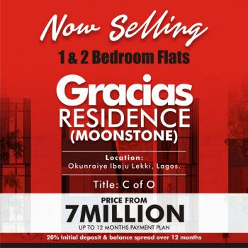 Gracias Residence Moonstone, Okunraiye, Ibeju Lekki, Lagos, House for Sale