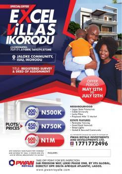 Land, Isiu, Before Bells University, Ikorodu, Lagos, Mixed-use Land for Sale