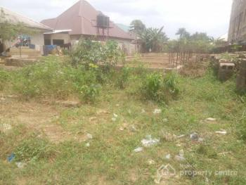 Well Located, Dry and Firm Land Measuring About 700sqm with a 6bedroom Uncompleted Building, Akpasak Housing Estate, Off Oron Road,, Uyo, Akwa Ibom, Mixed-use Land for Sale