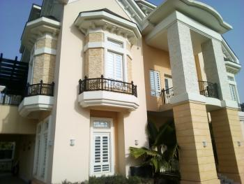 5 Bedrooms Service Detached Duplex with 2 Bedrooms Guests Chalets and 2 Rooms Bq, Off Aguyi Ironsi Way, Maitama District, Abuja, Detached Duplex for Rent
