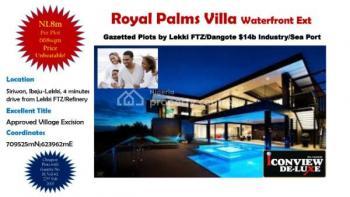 Beautiful Genuine Waterfront Plots. Gazette, Siriwon, Ibeju Lekki, Lagos, Land for Sale