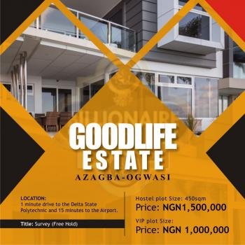 Plot of Land, 1 Min Drive to Delta State Polytechnic, Asaba, Delta, Mixed-use Land for Sale