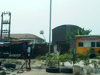 Land Facing The Express Way, After Blenco Supermarket Sangotedo Lekki Epe Express Way, Sangotedo, Ajah, Lagos, Commercial Land for Sale