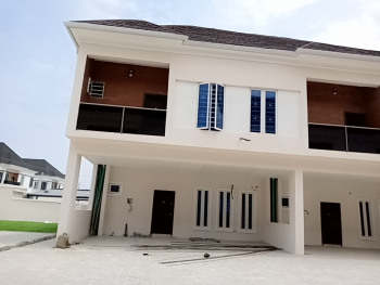 Brand New Service 3 Bedrooms, By 2nd Toll Gate, Lekki, Lagos, Terraced Duplex for Rent