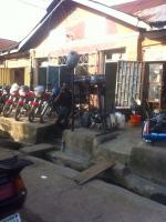 Shops And House Behind On 554.17 Square Metre, Ebute Metta West, Yaba, Lagos, Commercial Property For Sale