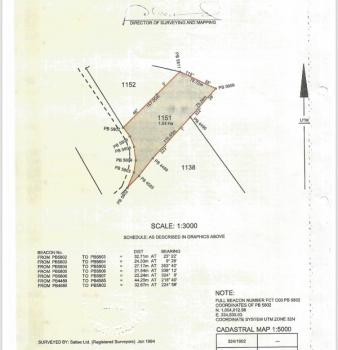 Commercial Plot, Life Camp, Gwarinpa, Abuja, Commercial Land for Sale