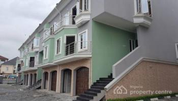 4 Bedroom Semi-detached Terrace with a Service Quarters, Chevron Road, Lekki Expressway, Lekki, Lagos, Terraced Duplex for Rent