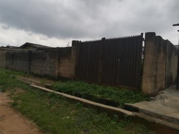 Well Fenced and Gated Plot of Land with an Uncompleted 2 Bedroom Bungalow Set Back, Igando, Ikotun, Lagos, Residential Land for Sale