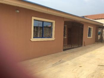 Self and Alone in Compound 3 Bedroom Bungalow with a Room Self and Security Room, Akasoleri Area After Low Cost Housing By Sabo Ikorodu Lagos, Ikorodu, Lagos, House for Rent