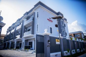 Fully Serviced 4 Bedroom Semi Detached Terrace Apartment with Bq at, Ikate Elegushi, Lekki, Lagos, Flat for Sale