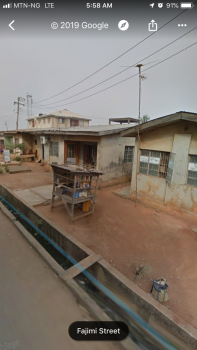 Land with 6 Bungalows, 9, Fajimi Street, Ijaiye, Lagos, Mixed-use Land for Sale