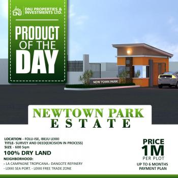 New Town Park Land, Folu Ise, Ibeju Lekki, Lagos, Residential Land for Sale