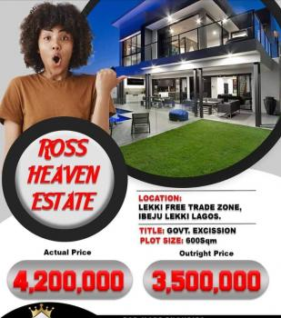 Estate Land for Sale with Government Excision, Lekki Free Trade Zone.dangote Refinery, Eleko, Ibeju Lekki, Lagos, Residential Land for Sale