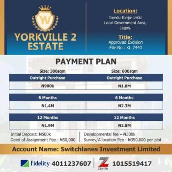 Land in Ibeju Lekki,  Yorkville Estate, Ibeju Lekki, Lagos, Land for Sale