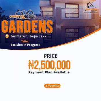 100% Dry Land in Ibeju Lekki, Itanmarun Ibeju-lekki, Ikegun, Ibeju Lekki, Lagos, Residential Land for Sale