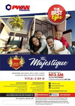 for Sale: Land with C of O in Abijo Gra, Abijo Gra, Abijo, Lekki, Lagos, Residential Land for Sale