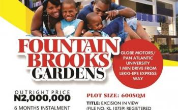Estate Land in Ibeju Lekki, in The Neighbourhood of The Pan Atlantic University Ibeju Lekki, Ibeju Lekki, Lagos, Residential Land for Sale