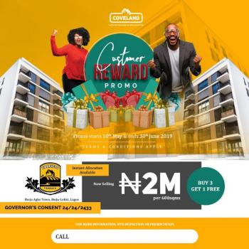 Garfield Terrace Estate: Govt. Approved Excision in Ibeju Agbe Town, Ibeju Agbe Town, Orimedu, Ibeju Lekki, Lagos, Residential Land for Sale
