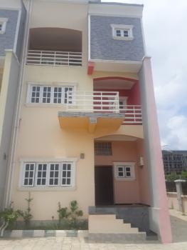 4 Bedroom Duplex with 1room Boys Quarters, Guzape, Guzape District, Abuja, Terraced Duplex for Sale