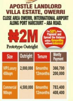 Land, Along Portharcourt Aba Road, Owerri, Imo, Residential Land for Sale