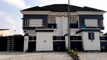 4 Bedroom Duplex with a Bq, in an Estate Close to Dominos Pizza Ologolo, Ologolo, Lekki, Lagos, Semi-detached Duplex for Sale