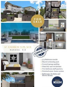 Luxury 4 Bedrooms House Plus Swimming Pool, Banana Island, Ikoyi, Lagos, House for Sale