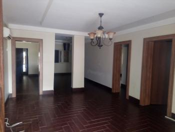 Service 3 Bedroom Block of Flat with Generator and Air Conditioner,, Off Katsina Ala Street, Maitama District, Abuja, Flat for Rent