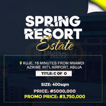Spring Resort Estate Land, Kuje, Abuja, Mixed-use Land for Sale