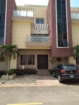 Classical & Top Notch Designed 4 Bedrooms Terrace Duplex with Bq in an Estate, By Stella Maris School, Life Camp, Gwarinpa, Abuja, Terraced Duplex for Rent