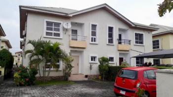 Serviced Four Bedroom Semi Detached Duplex with Bq for Rent in Osapa London, Osapa, Lekki, Lagos, Semi-detached Duplex for Rent