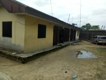 Pair of Semi Detached 2 Bedroom Flat Bungalow on a Plot of Land, Aleruchi Close,off Ada George Road,, Obio-akpor, Rivers, Flat for Sale