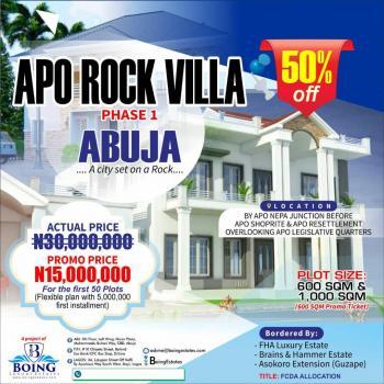 Apo Rock Villa Phase 1, Apo, Abuja, Mixed-use Land for Sale
