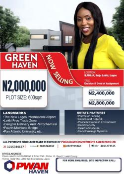 Dry Land in Ibeju Lekki: 5 Minutes From Pan Atlantic University, Ilamija Ibeju-lekki, Ibeju Lekki, Lagos, Residential Land for Sale