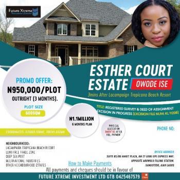 Esther Court Estate Land, Owode Ise, Folu Ise, Ibeju Lekki, Lagos, Mixed-use Land for Sale