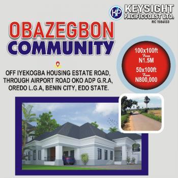Land, 37 Forestry Road, Benin, Oredo, Edo, Mixed-use Land for Sale