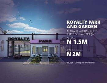 Estate Land in Abuja with R of O, Abuja Keffi Road, Karu, Abuja, Residential Land for Sale