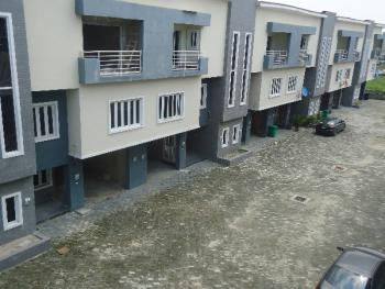 Tastefully Finished 4 Bedroom Terrace Duplex with Room Bq and Excellent Facilities, Orchid Way, Lafiaji, Lekki, Lagos, Terraced Duplex for Sale