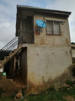 a Half Plot of Land with 6 Rooms Tenement Bungalow, Obawole Via College Road, Ogba, Ikeja, Lagos, Detached Bungalow for Sale