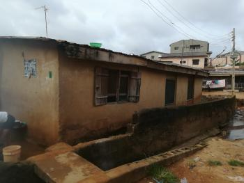 a Half Plot of Land with 6 Rooms Tenement Bungalow, Obawole Via College, Ogba, Ikeja, Lagos, Detached Bungalow for Sale