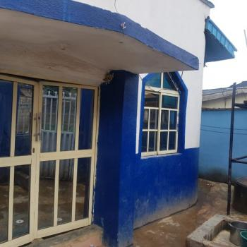an Half Plot of Land with a Hall and 4 Rooms on It, Egbe, Ikotun, Lagos, Mixed-use Land for Sale
