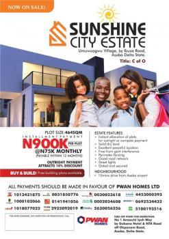 Sunshine Garden  with C of O, Umuwuagu Village Ibusa, Asaba, Delta, Residential Land for Sale