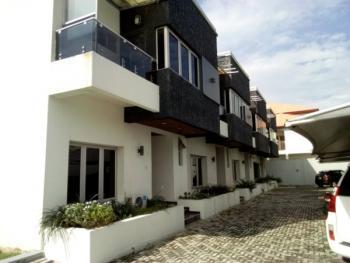 Contemporary 4 Bedroom Duplex with a Bq, Lekki Phase 1, Lekki, Lagos, Terraced Duplex for Sale