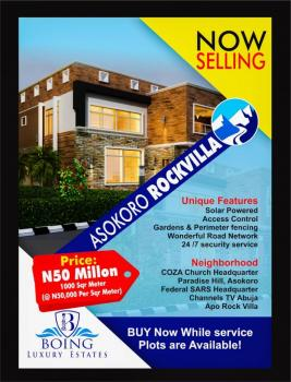 1000 Sqm Land, Asokoro Extension, Asokoro District, Abuja, Mixed-use Land for Sale