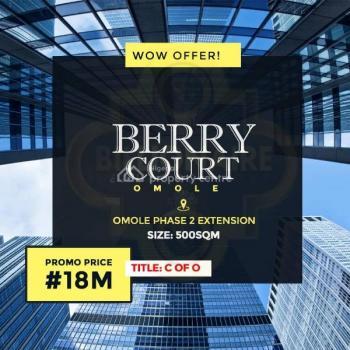 500 Sqm Land, Omole Phase 2, Ikeja, Lagos, Residential Land for Sale