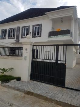 Luxury Spacious 4 Bedroom Duplex with Bq, Chevron Alternative Drive, Chevy View Estate, Lekki, Lagos, Semi-detached Duplex for Rent