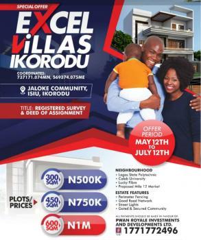 Excel Villa, Ikorodu, Lagos, Residential Land for Sale