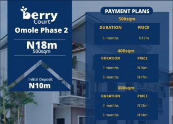 Land for Berry Court, Omole Phase 2 Extension, Omole Phase 2, Ikeja, Lagos, Residential Land for Sale