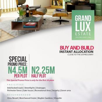 Grand Lux Estate Land, Bule Pan Sapati, Lekki, Ajah, Lagos, Residential Land for Sale