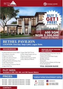 Land, Onosa, Ibeju Lekki, Lagos, Residential Land for Sale