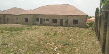 Fenced Plot of About 2,000sqm with Bungalows, Lugbe District, Abuja, Residential Land for Sale